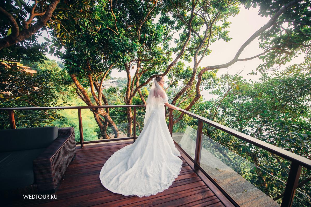 свадьба на острове пхукет,кружевное свадебное платье