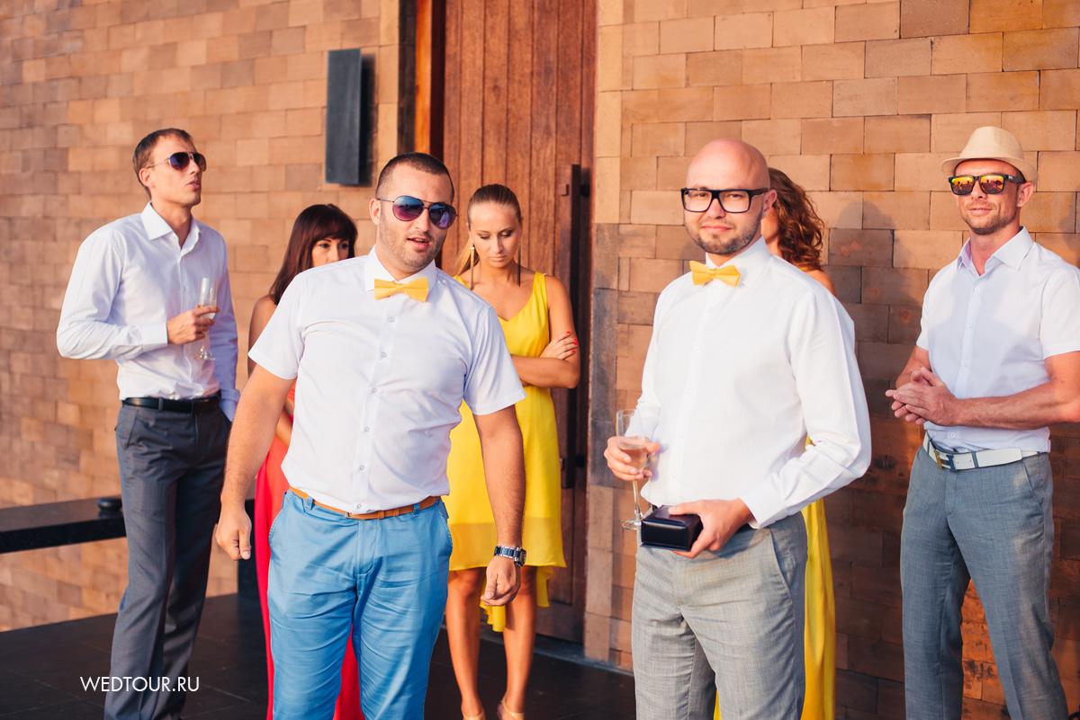 Друзья жениха,подружки невесты,лимонная свадьба