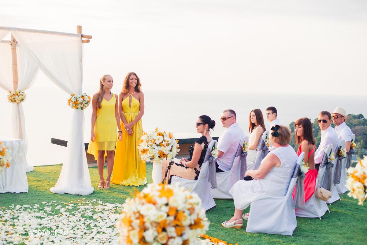 Свадьба на острове пхукет,свадедебная церемония в таиланде