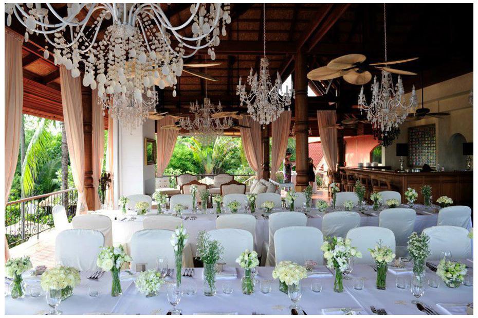 свадебная сервировка, цветочное оформление свадьбы