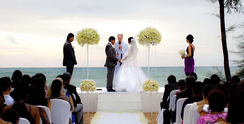 О свадьбе за границей