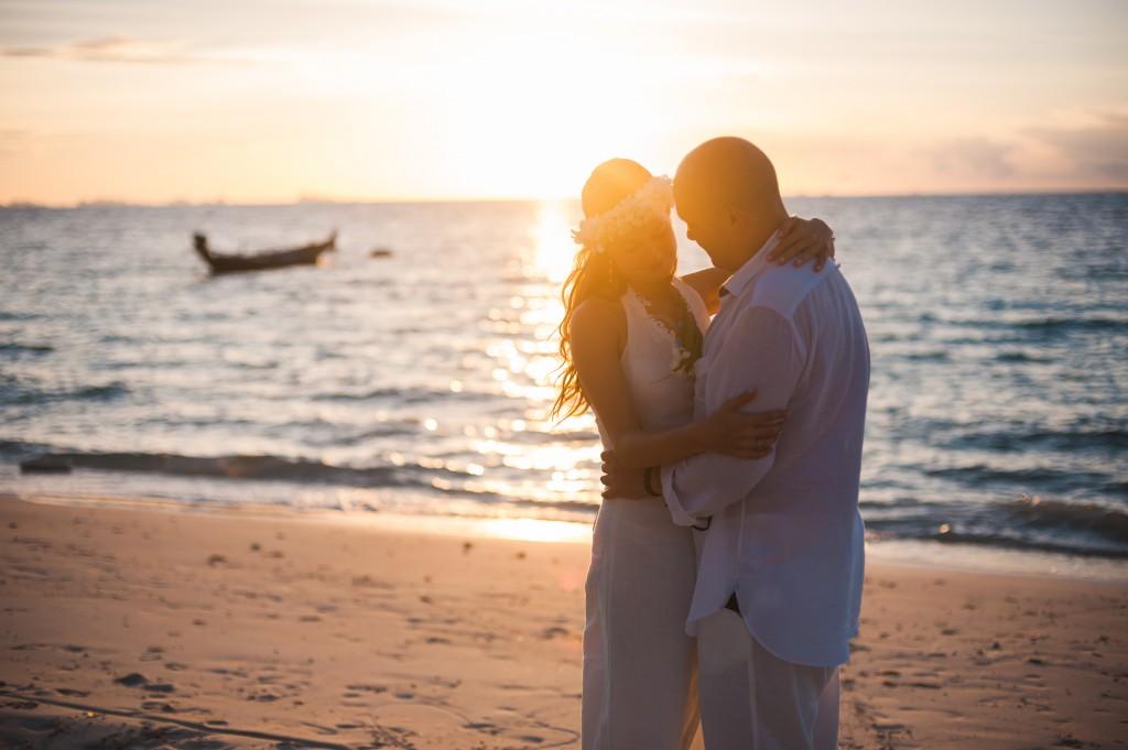 Медовый месяц и годовщина свадьбы в Таиланде.