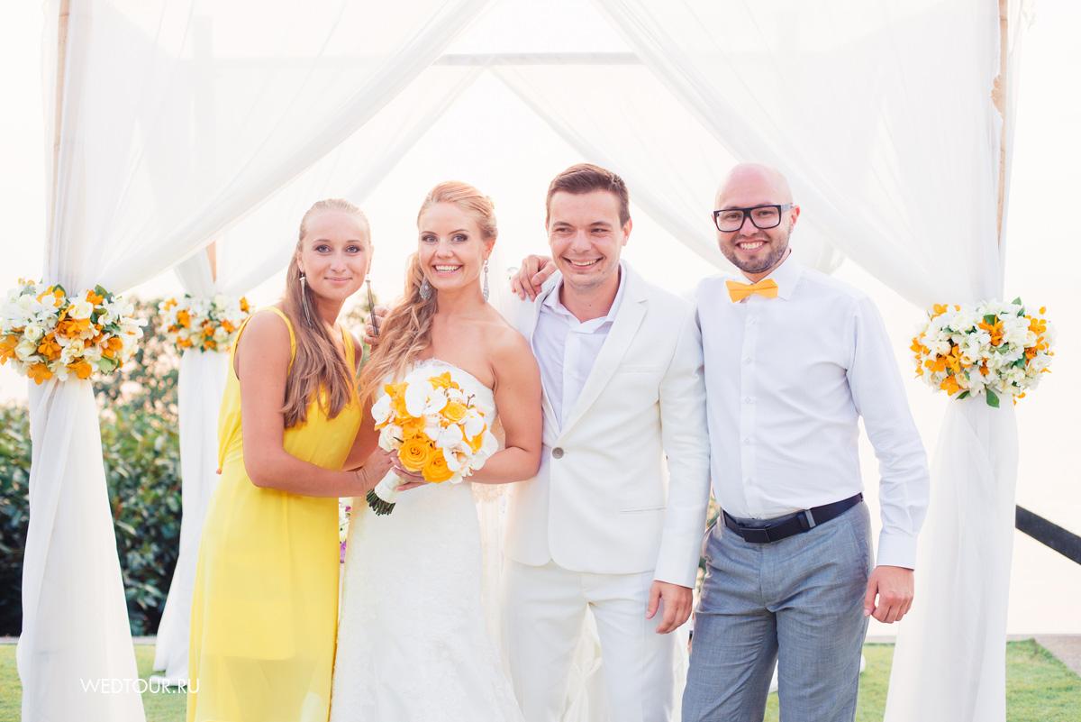 свадьба на острове Пхукет,лимонная свадьба