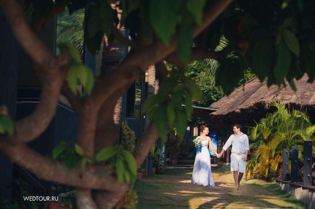 Свадьба на Пангане Никита и Аня пляж Haad Rin