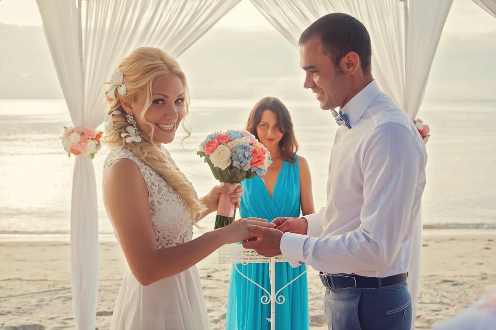 свадьба в тайланде церемония
