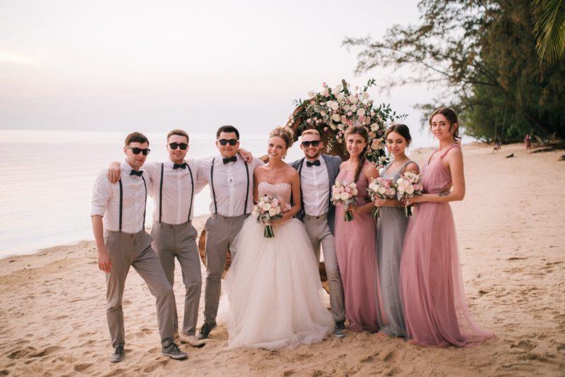 цены, свадьба в с гостями в таиланде