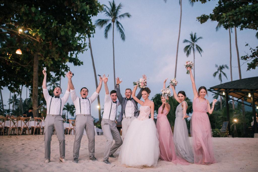 красивая свадьба, тайланд,пляж,церемония, свадьба, свадьба в тайланде